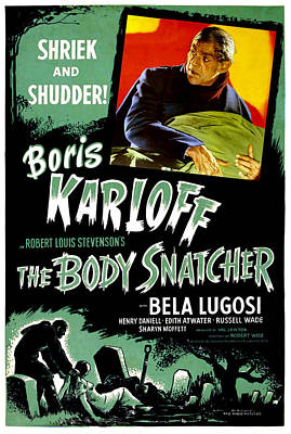 The Body Snatcher, Boris Karloff, 1945 Poster by Everett