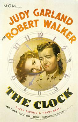 The Clock, Judy Garland, Robert Walker Poster by Everett