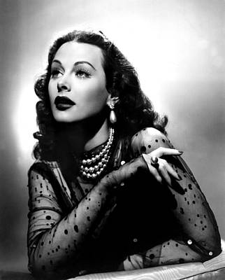 The Conspirators, Hedy Lamarr, 1944 Poster by Everett