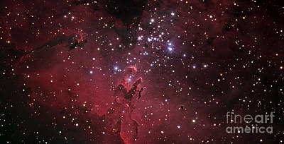 The Eagle Nebula Poster by R Jay GaBany