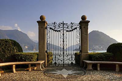 The Gateway To Lago Di Lugano Poster by Joana Kruse