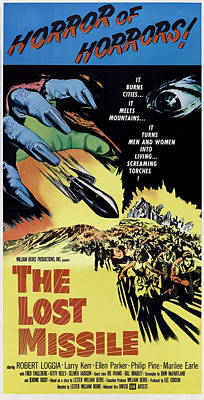 The Lost Missle, 1958 Poster