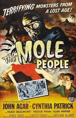 The Mole People, 1956 Poster by Everett