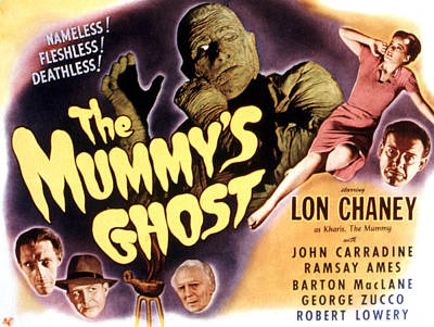 The Mummys Ghost, Lon Chaney Jr., 1944 Poster by Everett