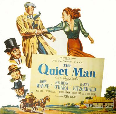 The Quiet Man, John Wayne, Maureen Poster