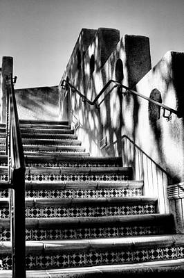 The Stairway At Tlaquepaque Poster by David Patterson