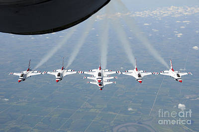 The U.s. Air Force Thunderbird Poster