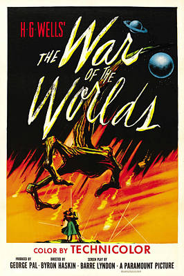The War Of The Worlds, 1953 Poster by Everett