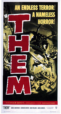 Them, 1954 Poster by Everett