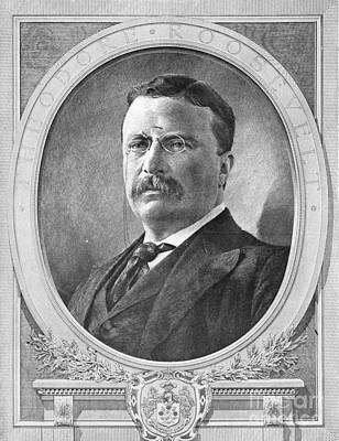 Theodore Roosevelt, 26th American Poster by Photo Researchers