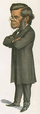 Thomas Huxley, English Biologist Poster