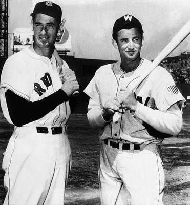 Top Sluggers. Ted Williams Poster by Everett