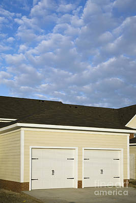 Townhouse Garages Poster by Roberto Westbrook