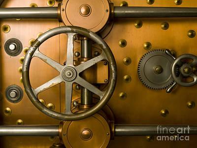 Tumbler Bank Vault Door Poster