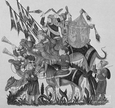 Turkish Muslims, The Crusades Poster by Photo Researchers