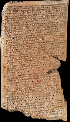 Venus Tablet Of Ammisaduqa, 7th Century Poster by Science Source