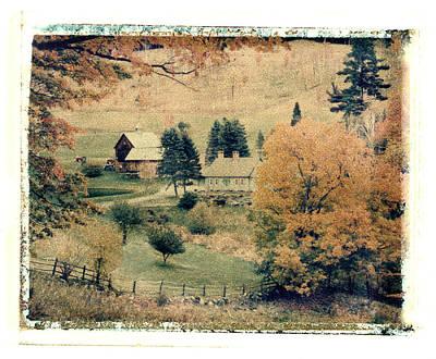 Vermont Farm Poster
