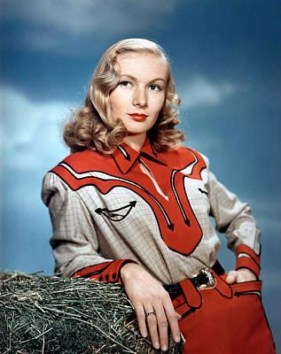 Veronica Lake, 1940s Poster