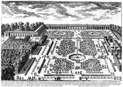 Versailles: Garden, 1685 Poster by Granger