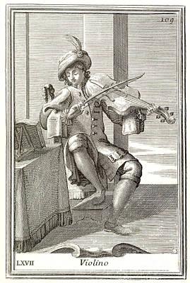Violin, 1723 Poster by Granger
