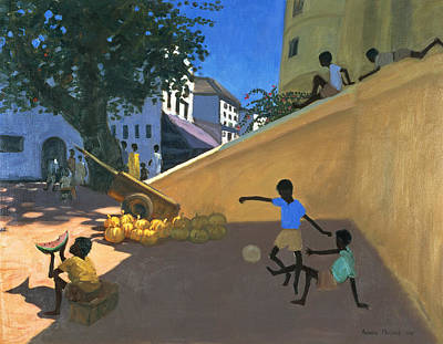 Water Melons Poster by Andrew Macara