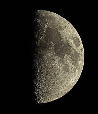 Waxing Half Moon Poster by Eckhard Slawik