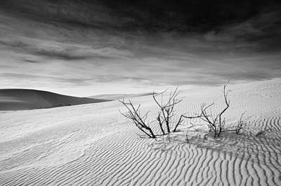Poster featuring the photograph White Sands by Mike Irwin