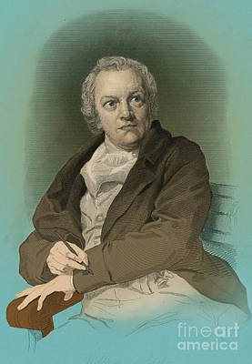 William Blake, English Poet And Painter Poster by Photo Researchers