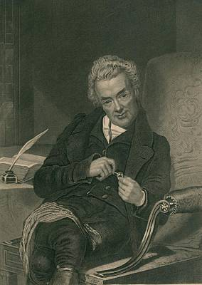 William Wilberforce 1859-1833 British Poster by Everett
