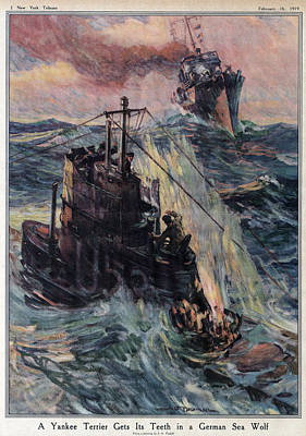 World War I, The New York Tribune Poster by Everett