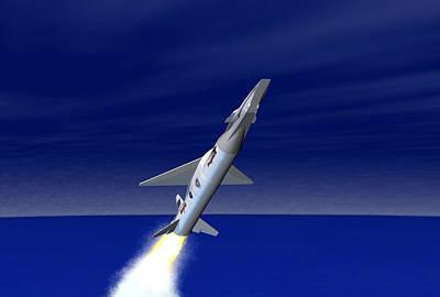 X-43a Aircraft Poster by Nasa