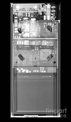 X-ray Of An Ipod Poster by Ted Kinsman
