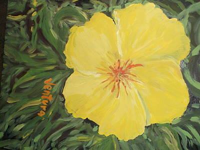 Yellow Alamander Poster