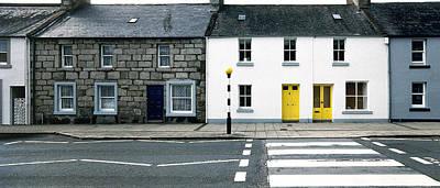 Yellow Doors Poster