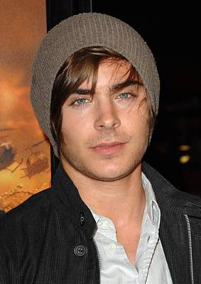 Zac Efron At Arrivals For Premiere Poster by Everett