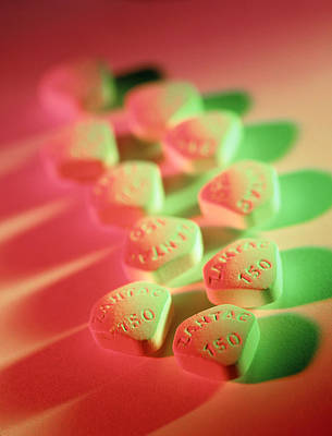 Zantac Pills Poster by Tek Image