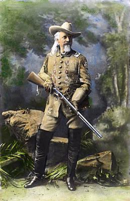 William F. Cody (1846-1917) Poster