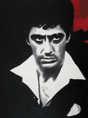 - Scarface - Poster by Luis Ludzska