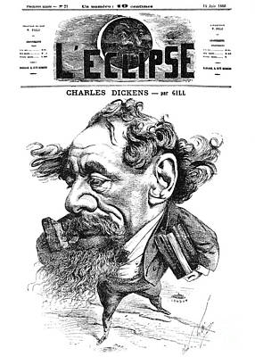 Charles Dickens (1812-1870) Poster by Granger