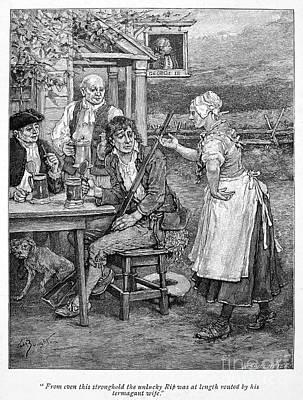 Irving: Rip Van Winkle Poster by Granger