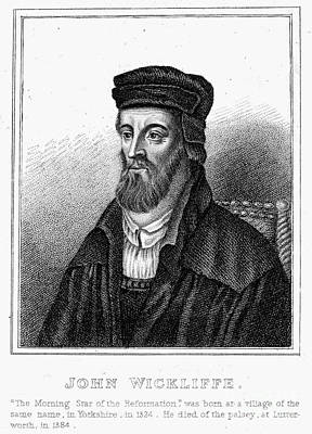 John Wycliffe (1320?-1384) Poster by Granger