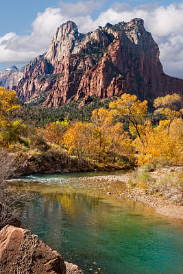 Zion National Park Utah Poster by Utah Images