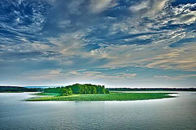 1206-9119 Arkansas River At Spadra Park  Poster by Randy Forrester
