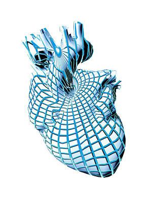 Human Heart, Artwork Poster