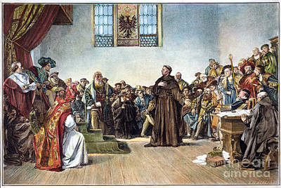 Martin Luther (1483-1546) Poster by Granger