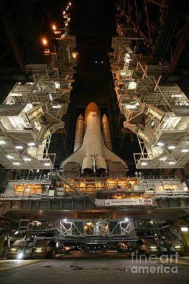 Space Shuttle Endeavour Poster by Stocktrek Images