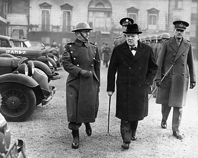 Winston Churchill Poster by Granger