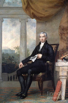 James Monroe (1758-1831) Poster by Granger