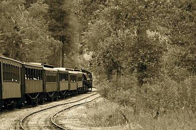 1800's Train Poster