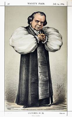 1869 \soapy Sam\ Wilberforce Vanity Fair Poster